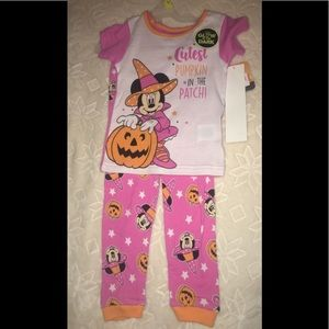 Toddler girl 3t pajamas Minnie Mouse new